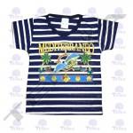 camiseta estrec marino