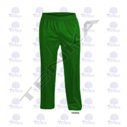 GREEN ACETATE TROUSERS