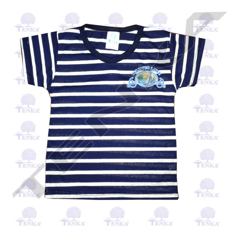 camiseta estrec marino adu