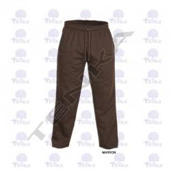 Pantalons de plàstic Marró