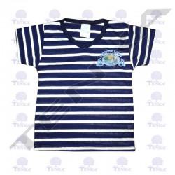 t-shirt estrec marine adu